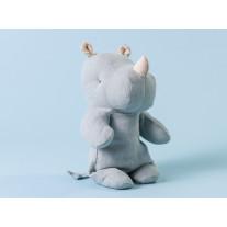 Maileg Rhino Klein Blau / Grau Safari Friends 22 cm
