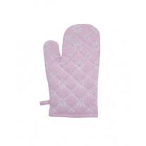 Krasilnikoff Ofenhandschuh Blume Diagonal rosa