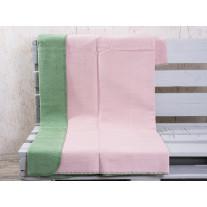Pad Decke Hobart rosa / grün