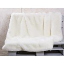 Pad Decke SHERIDAN Felldecke Weiß