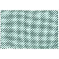 Pad Outdoor Teppich POOL Opal Türkis / Weiß 72x132 cm