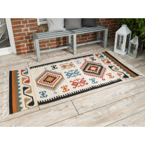 Pad Outdoor Teppich QUERO Rot 90x200