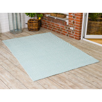 Pad Outdoor Teppich POOL Opal Türkis / Weiß 170x240 cm