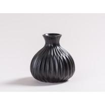 Vase Lina schwarz 12 cm