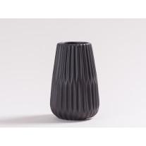 Vase Line schwarz 17 cm
