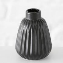 Vase Sina schwarz 12 cm