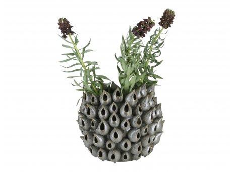 A simple Mess Vase Bark Keramik Blumenvase Handarbeit Unikat 31 cm hoch 36 Durchmesser