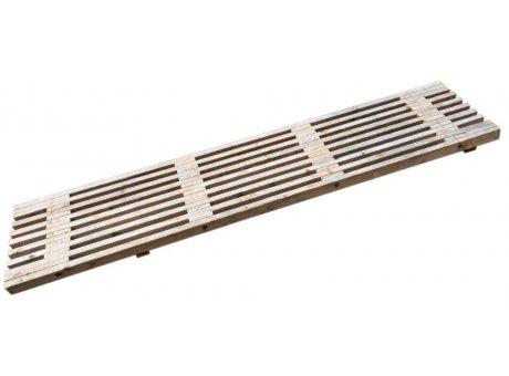 A2 Living Allwetter Oberteil aus Holz für Gartenbank rostfreie Gartenmöbel