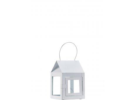 A2 Living Hängelaterne Weiß Matt 12 cm A2 Mini Teelicht Laterne Nr 40086