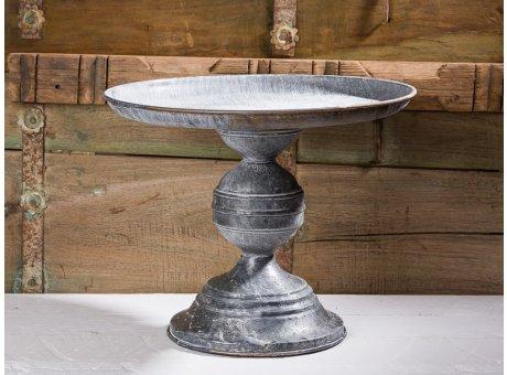 Affari of Sweden Tortenplatte Fenix aus Metall im Vintage Design Durchmesser 33 cm Höhe 26 cm