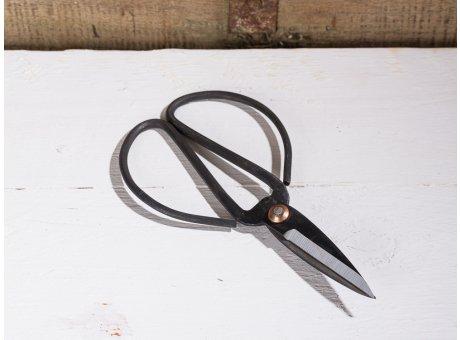 Affari of Sweden Vintage Deko Objekt Schere FREJ schwarz aus Metall 17 cm