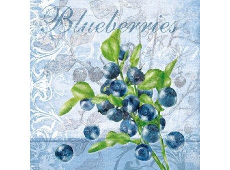 Ambiente Servietten Blueberries