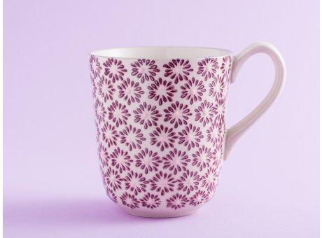 Bloomingville Becher MAYA Keramik Geschirr Tasse 360 ml Kaffeebecher rot