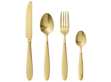 Bloomingville Besteck gold 4er Set