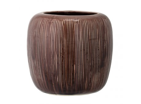 Bloomingville Blumentopf Braun 19 cm Keramik Übertopf Produkt Nr 75109648