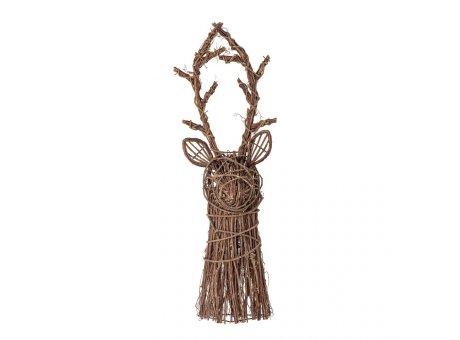 Bloomingville Deko Hirsch PEER Weide 82 cm gross Bloomingville Weihnachtsdeko Nr 82051947