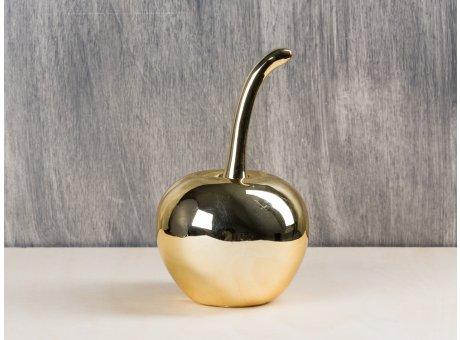 Bloomingville Kirsche gold glänzend Deko Objekt groß
