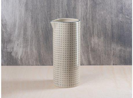 Bloomingville Krug grau Carla Geschirr Kollektion Karaffe Höhe 25 cm