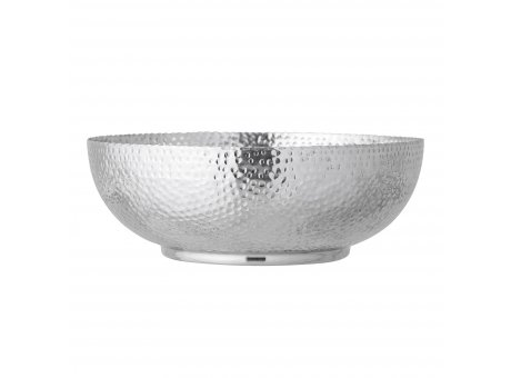 Bloomingville Schale Silber 36 cm Aluminium Schüssel Bloomingville Design Artikel Nr 82049386