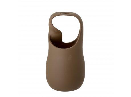 Bloomingville Vase NICITA Braun Uni Farbig 28 cm hoch Keramik Bloomingville Blumenvase Nr 82049586