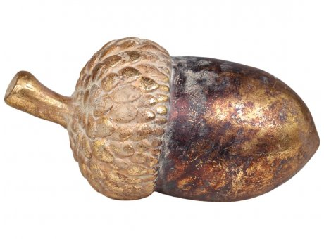 Chic Antique EICHEL Antik Gold Acorn 9x16 cm Chic Antique Weihnachtsdeko Nr 51837-13