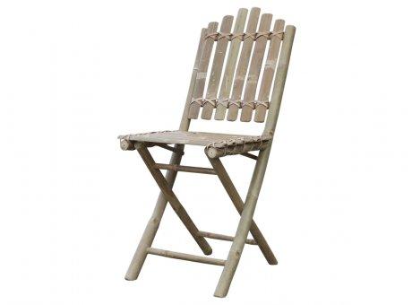 Chic Antique Lyon Stuhl Bambus Klappstuhl Gartenstuhl Model Nr 40188-00