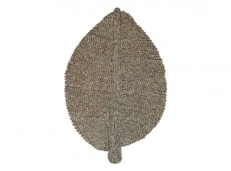 Chic Antique Teppich BLATT 50x75 cm Seegras Matte Läufer Klein Nr 39422-00