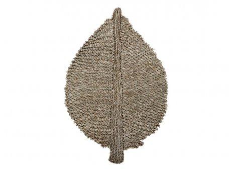 Chic Antique Teppich BLATT 60x90 cm Seegras Matte Läufer Groß Nr 39423-00