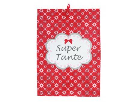 Geschirrhandtuch-Super-Tante-Krasilnikoff