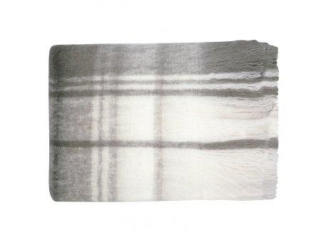 Greengate Decke CHECK Grau 125x150 cm Wolldecke Karo Muster GG Produkt Nr MWLBLA150CHC8102