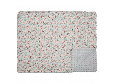 Greengate Decke MERLA 140x220 cm Baumwolle Greengate Quilt Design Nr QUIBED140WMAL0102