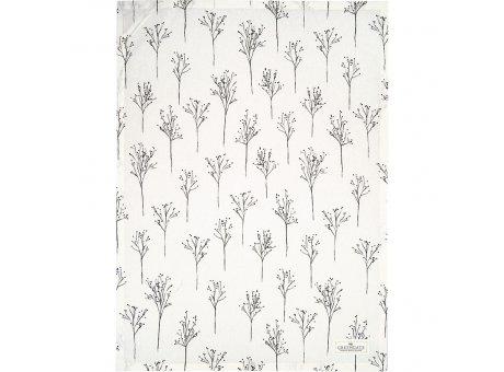 Greengate Geschirrtuch ANTONIA Weiss mit Gräsern Baumwolle 50x70 Greengate Geschirrhandtuch Nr COTTEAATN0112