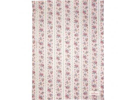 Greengate Geschirrtuch AVA Weiss mit Blumen Baumwolle 50x70 Greengate Geschirrhandtuch Nr COTTEAAVA0112