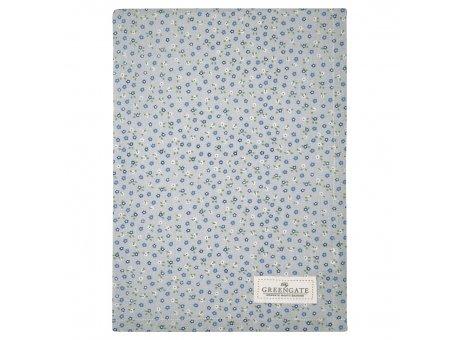 Greengate Geschirrtuch ELLISE Grau mit kleinen Blümchen Baumwolle 50x70 Greengate Produkt Nr COTTEAESE8112