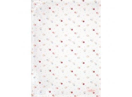 Greengate Geschirrtuch KYLIE Weiss mit bunten Punkten Baumwolle 50x70 Greengate Geschirrhandtuch Nr COTTEAKYL0112