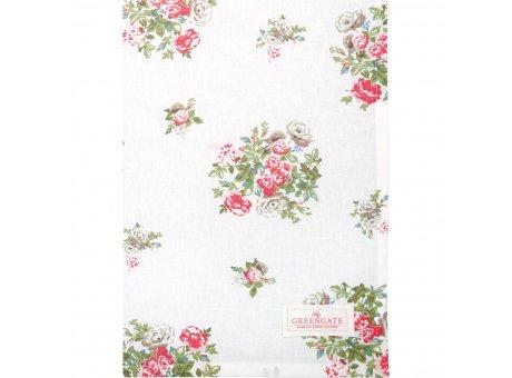Greengate Geschirrtuch Petricia Weiss mit Blumen Baumwolle 50x70 Greengate Geschirrhandtuch Nr COTTEAPET0112