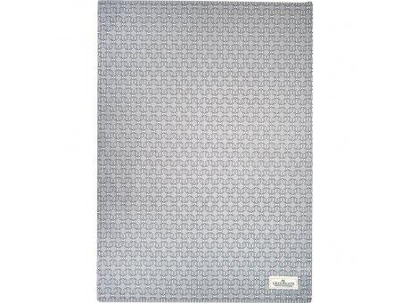 Greengate Geschirrtuch RANI Pale Grey Grau Baumwolle 50x70 Greengate Geschirrhandtuch Nr COTTEARAN8512