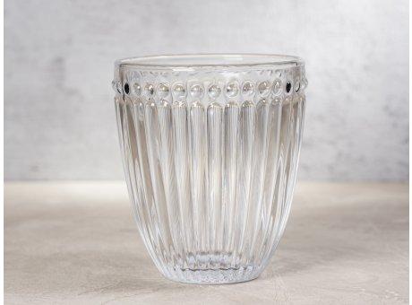 Greengate Glas Alice Klar Everday Wasserglas Design Trinkglas 300 ml