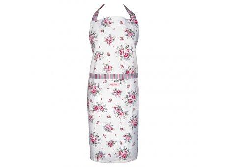 Greengate Küchenschürze ELOUISE Weiss mit Blumen Baumwolle Schürze GG Produkt Nr COTAPRELO0104