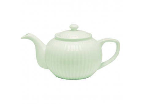 Greengate Teekanne ALICE Grün Kanne Everyday Geschirr Pale Green 1 Liter Greengate Produkt Nr STWTEAALI3904