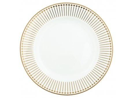 Greengate Teller DAWN Gold Weiss Gate Noir Kuchenteller aus Porzellan Goldrand 20cm Frühstücksteller Greengate Produkt Nr STWPLADAW6006