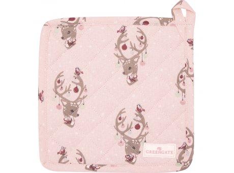 Greengate Topflappen DINA PALE PINK Rosa 2er Set Bambi Greengate NR COTPOTDIN1904