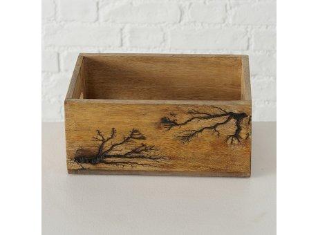 Holzkiste PELLE 16x24 cm Rusikal Natur Holz Box Nr. 12.083-09928-24