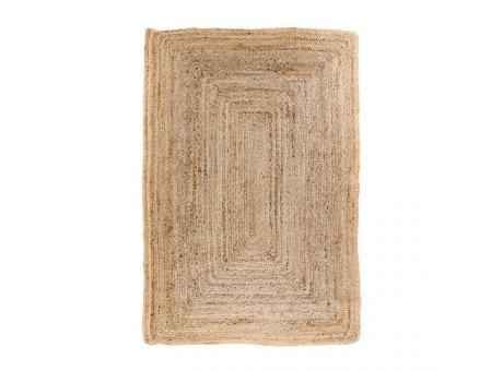 House Nordic Teppich BOMBAY Jute 120x180 cm Natur braun beige Nr. 3981162