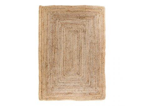 House Nordic Teppich BOMBAY Jute 180x240 cm Natur braun beige Nr. 3981163