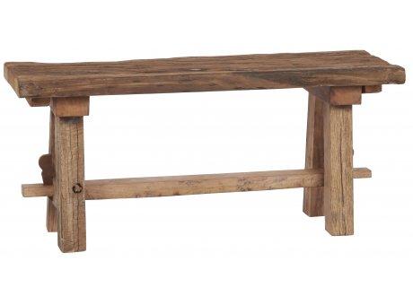IB Laursen Bank Unika aus Holz Sitzbank Unikat Länge 90 cm