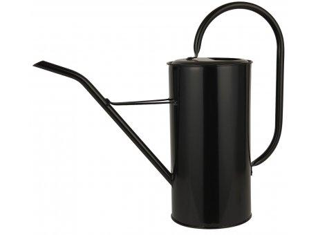 IB Laursen Gießkanne Schwarz 2,7 Liter mit Griff aus Metall Ib Laursen Garten Deko Nr 4238-24