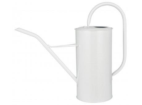 IB Laursen Gießkanne Weiss 2,7 Liter mit Griff aus Metall Ib Laursen Garten Deko Nr 4238-11