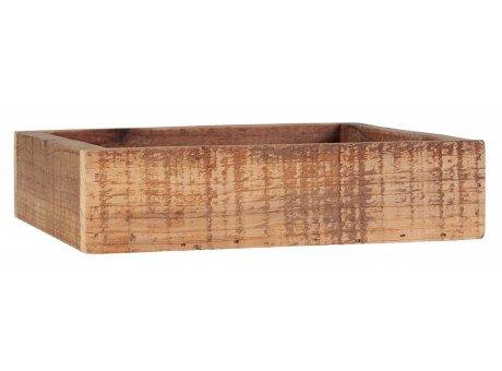 IB Laursen Holzkiste 20x20 cm Braun Deko Box IB Laursen Kiste Nr 3082-00