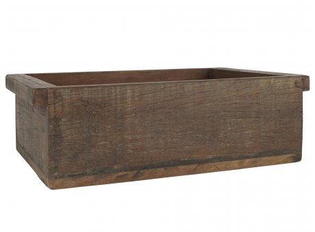 IB Laursen Holzkiste Unika aus altem Holz Unikate 30x43 cm Aufbewahrungskiste
